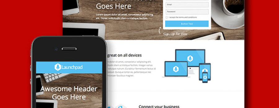 Company website at a fixed price