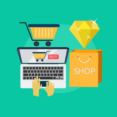 Onlineshop let create