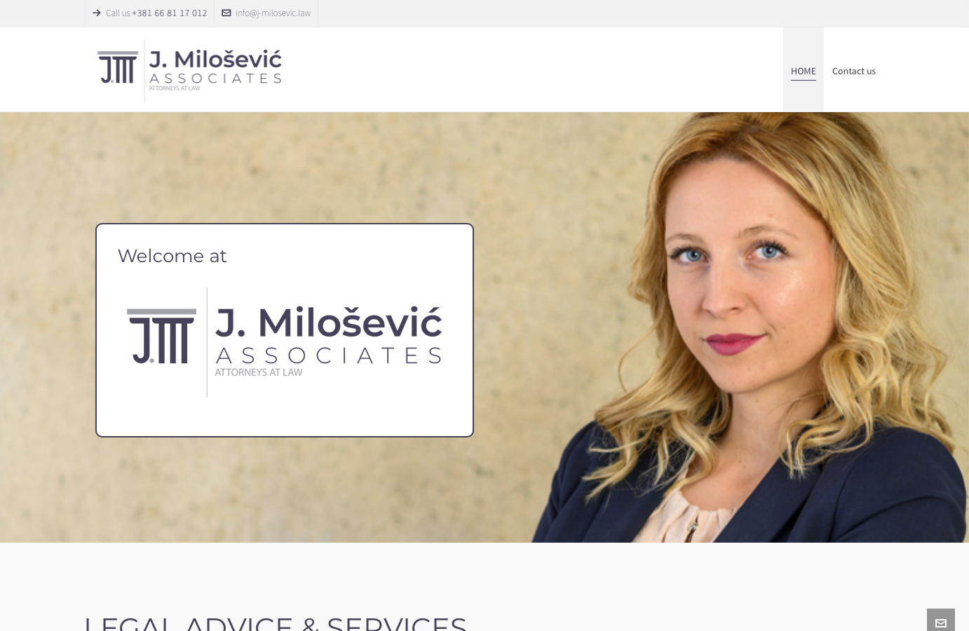J. Milosevic Associates Serbia