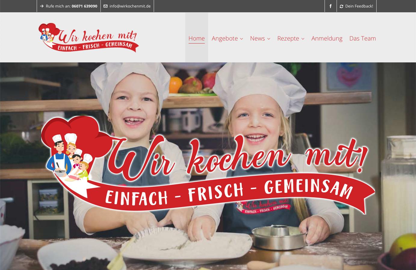 Kinderkochschule - Wir kochen mit