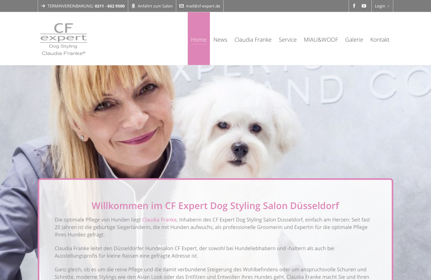 Claudia Franke Dog Styling