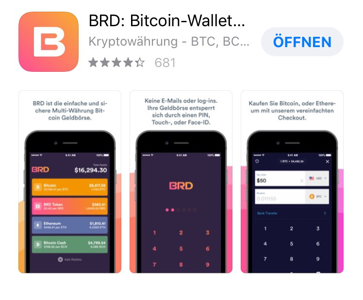 BRD Bitcoin Wallet