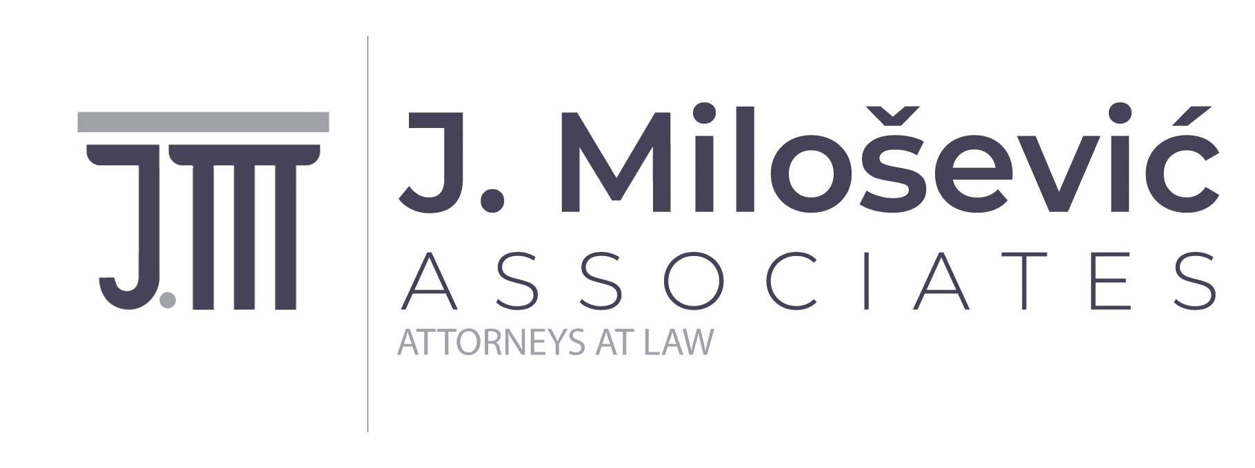 Logo Milosevic accociates attorneys at law