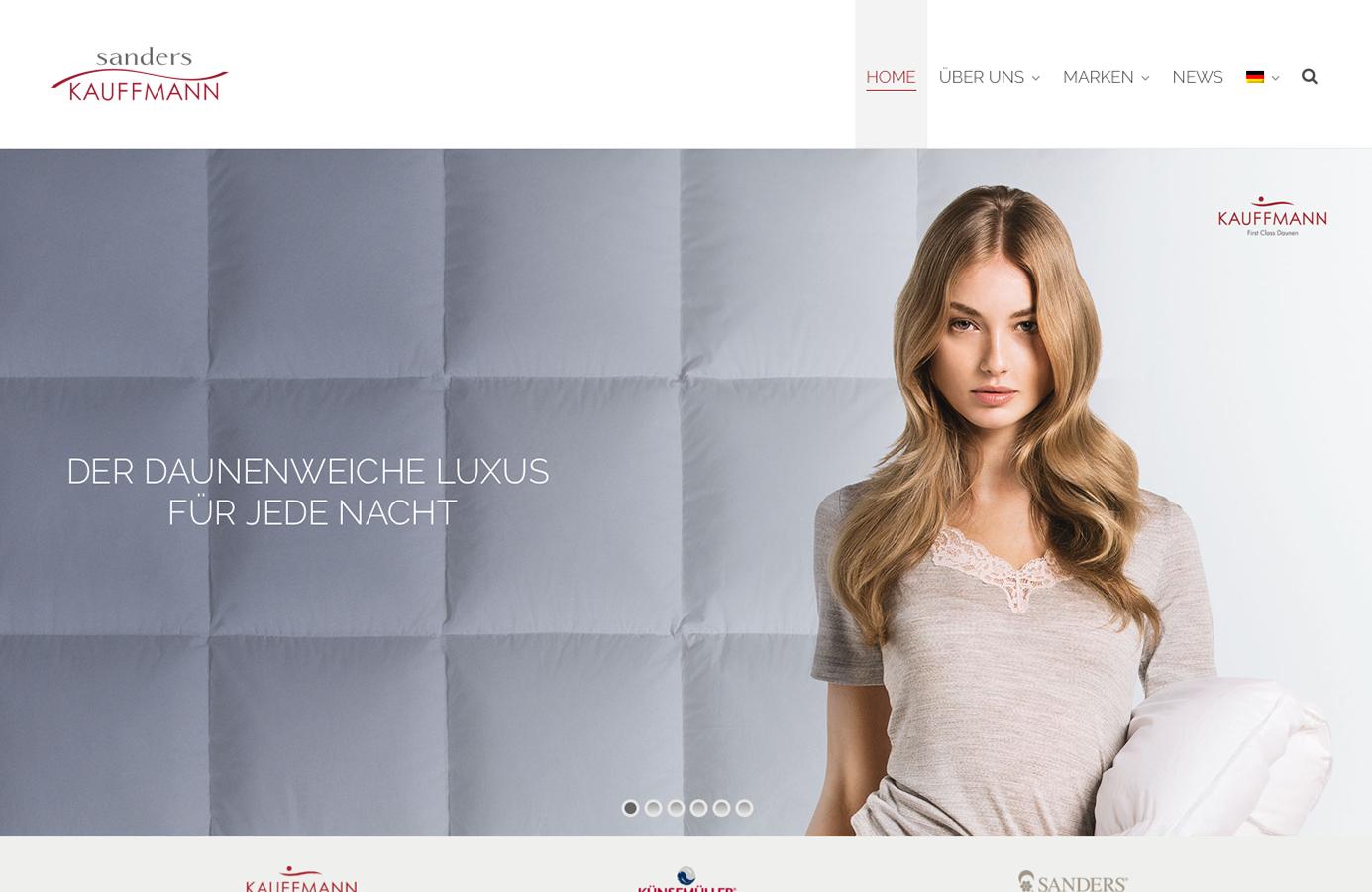 Sanders Kauffmann Homepage