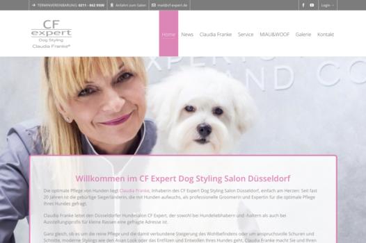 Webseite für Hundezüchter