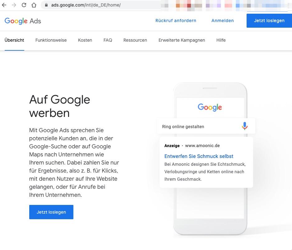 Google Dienst Google Ads